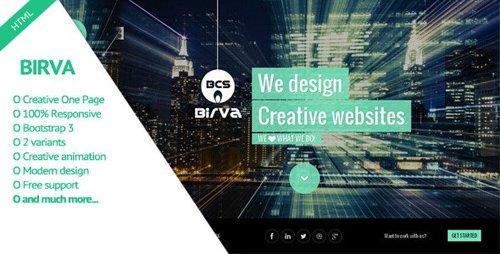 ThemeForest - Birva v2.0 - Creative One Page Theme (Update: 13 March 14) - 7020200