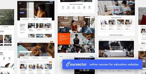 ThemeForest - Coursector v1.3.1 - LMS Education WordPress - 24553720 - NULLED
