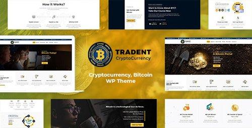 ThemeForest - Tradent v1.6 - Cryptocurrency, Bitcoin WordPress Theme - 21757004