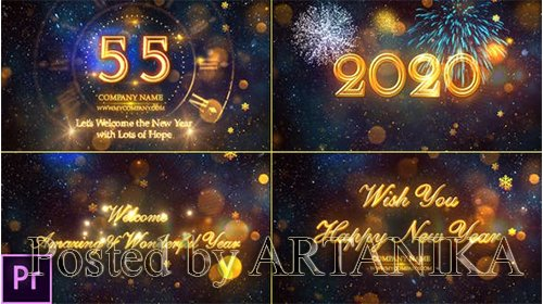 New Year Countdown 2020 - Premiere Pro 24892535