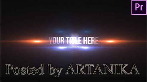 VideoHive - Fast Particle Reveal Title 24757996 Premiere Pro Template