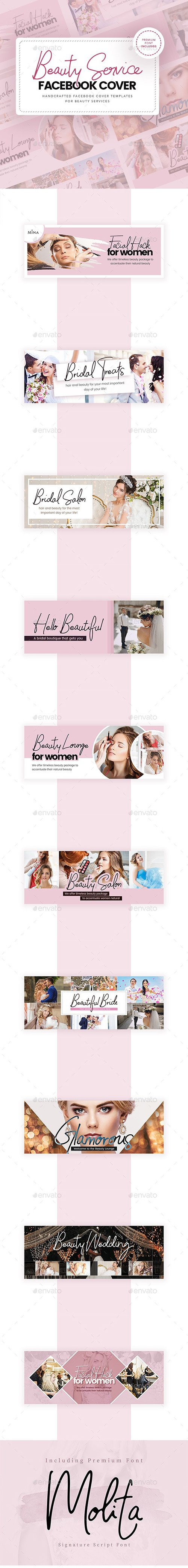 GraphicRiver - Beauty Service Facebook Cover 24742912