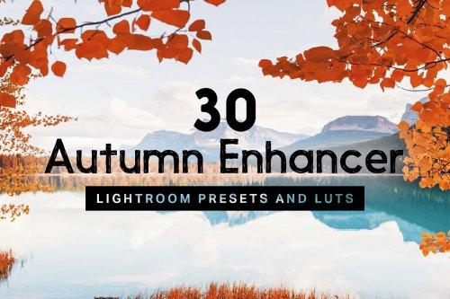 CreativeMarket - 30 Autumn Enhancer Lightroom Presets 4237494