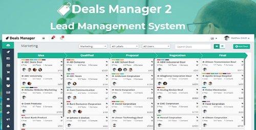 CodeCanyon - Deals Manager 2 CRM v1.0 - 23800312