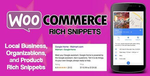 CodeCanyon - WooCommerce Rich Snippets v2.3.0 - Local SEO & Business SEO Plugin - 21810280