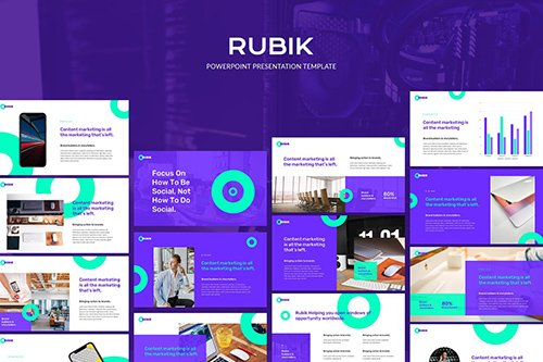 Rubik - Powerpoint Template