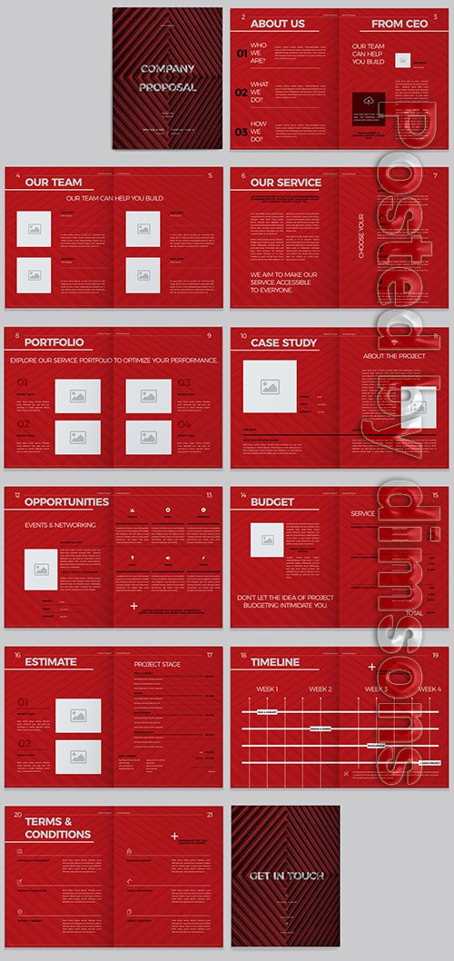 Red Business Proposal Layout 296628174 INDT