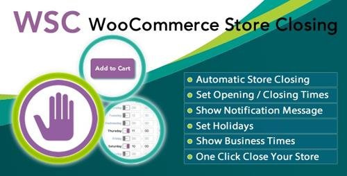 CodeCanyon - Woocommerce Store Closing v9.6.4 - 19398781