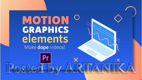 VideoHive - Motion Graphics Elements Pack | MOGRT for Premiere Pro 22061366