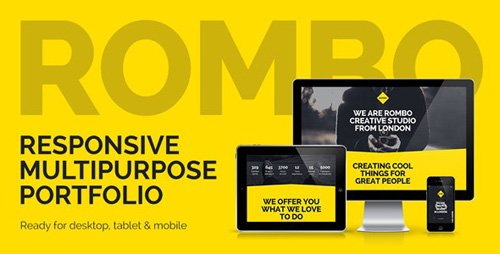 ThemeForest - Rombo v3.0 - Responsive Multipurpose Portfolio Muse Template - 7467151