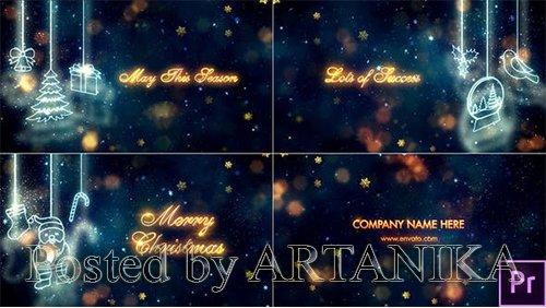 Christmas Titles - Premiere Pro 24927360