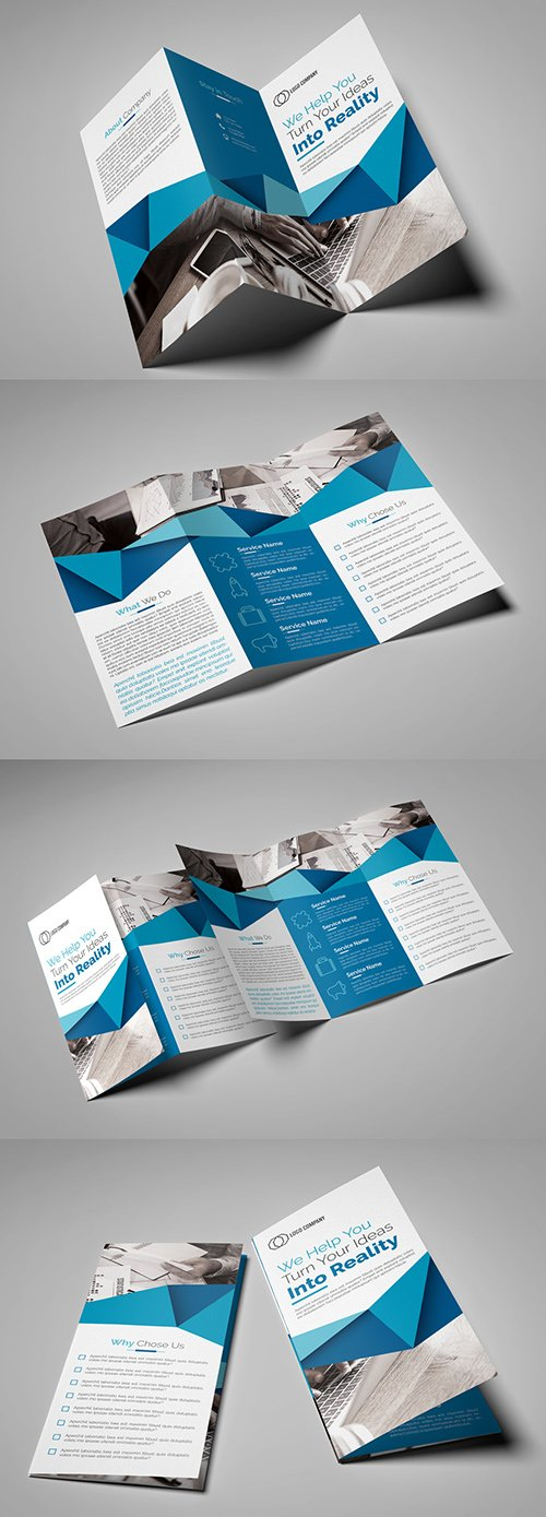 Trifold Brochure Layout 215292442 INDT