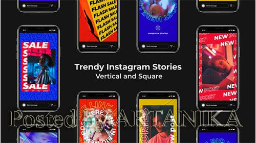 VideoHive - Trendy Instagram Stories | Vertical and Square 24900393