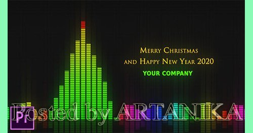 VideoHive - Audio Meter Christmas Wishes - Premiere Pro 24917695