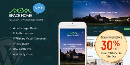 ThemeForest - Space Home v2.2.1 - Real Estate WordPress Theme - 17251245