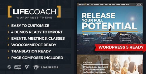 ThemeForest - Life Coach v2.2.5 - WordPress Theme - 19654782