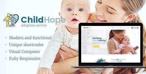 ThemeForest - ChildHope v1.1.1 - Child Adoption Service & Charity Nonprofit WordPress Theme - 19924237