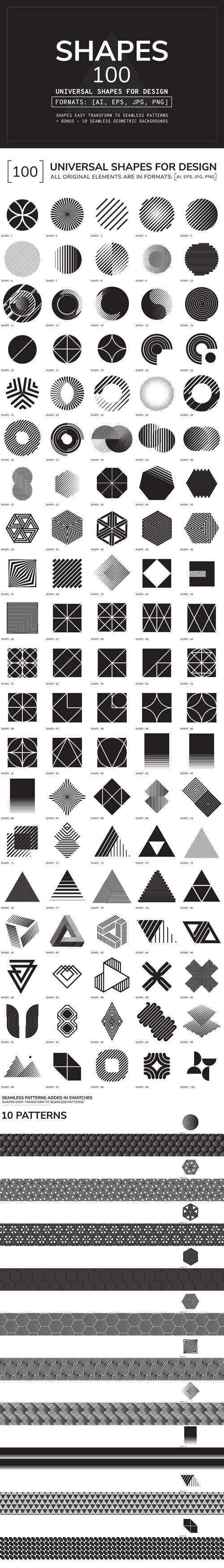 CM - 100 Geometric Shapes - Part 2