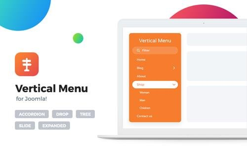 Offlajn - Vertical Menu v4.0.270 - Joomla Extension