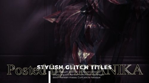 Glitch Lower Thirds 224103