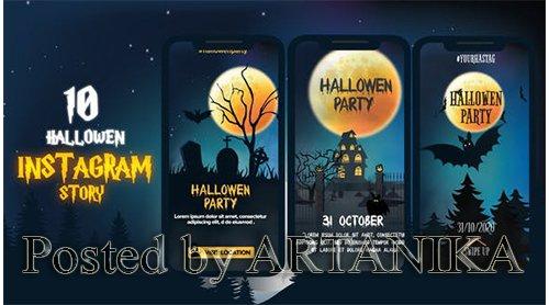 VideoHive - Halloween Instagram Stories 24901551