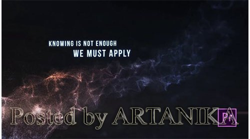 VideoHive - Atmospheric Particle Titles - Premiere Pro 24958829
