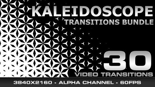 Videohive - Kaleidoscope Transitions Bundle FullHD - 23474115