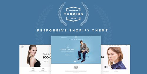ThemeForest - Tuoring v2.0 - Responsive Fashion, Tee, Clothing Shopify Theme (Sections Ready) - 20168554