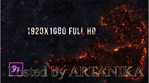 VideoHive -Inferno Fire Titles - Premiere Pro 24973304