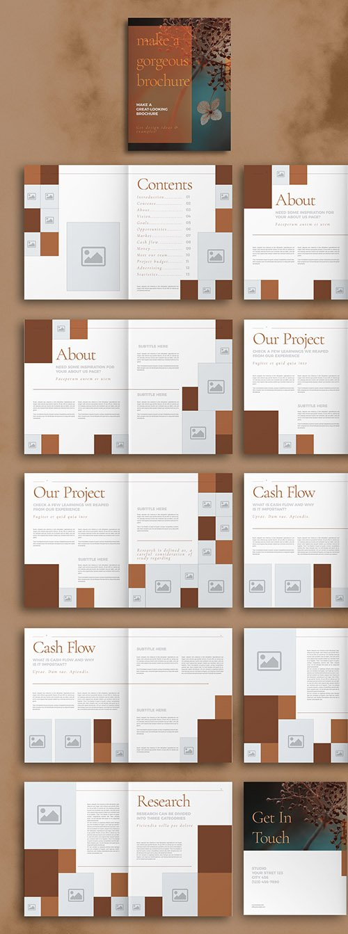 Brown Brochure Layout 297601049 INDT