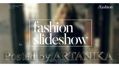VideoHive -Fashion Slideshow 15763308