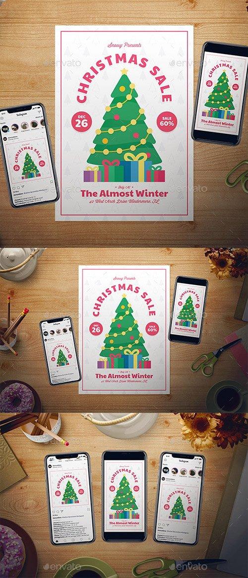 GR - Christmas Sale Flyer Set 22818240