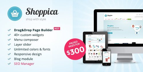 ThemeForest - Shoppica v3.3.2 - Premium OpenCart Theme - 235470