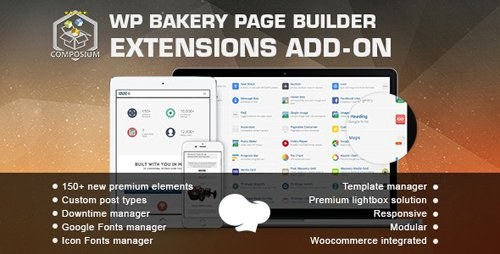 CodeCanyon - Composium v5.5.1 - WP Bakery Page Builder Extensions Addon - 7190695