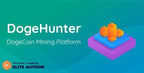 CodeCanyon - DogeHunter v1.0 - Dogecoin Mining Platform - 23582815 - NULLED