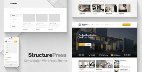 ThemeForest - StructurePress v1.11.1 - Construction and Architecture WordPress Theme - 13743206 - NULLED