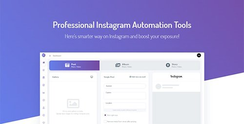 CodeCanyon - Instagram Automation Tools with Schedule - Autobot Instagram v1.0 - 24331671 - NULLED