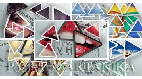 VideoHive - Triangles 5522888