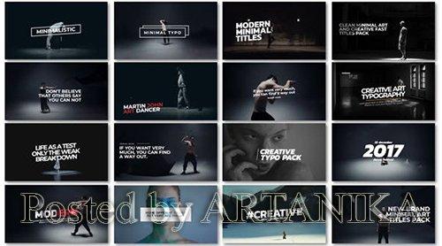 VideoHive - Minimal Art Titles 21488099