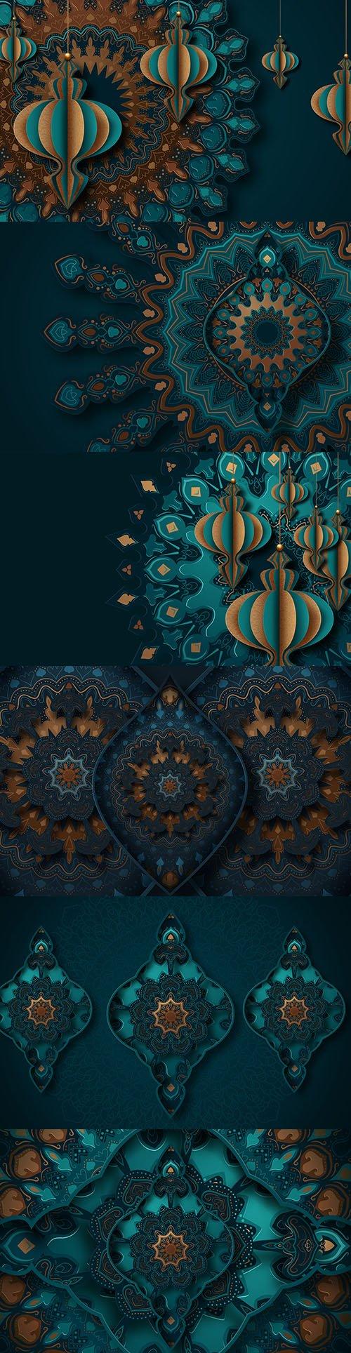 Paper Art Set - Islamic Greeting Card Ramadan