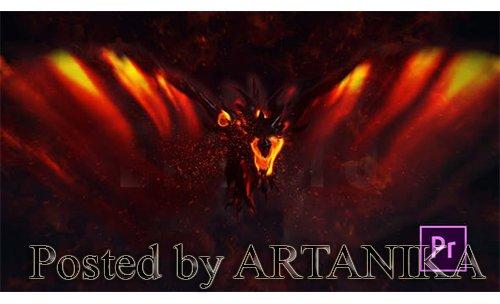 VH - Fire Dragon Title - Premiere Pro 25020722