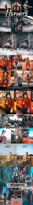GraphicRiver - Bundle Lightroom Desktop & Mobile Presets 24875075
