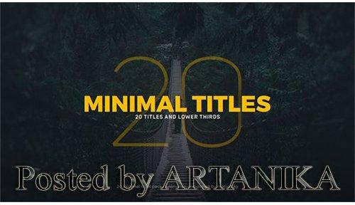Minimal Titles 20206702