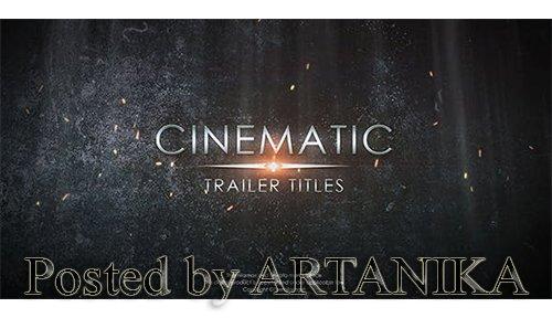 Cinematic Trailer Titles 20905263