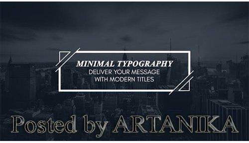 Minimal Modern Typography 23749851