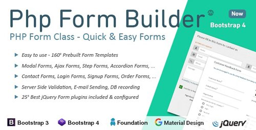 CodeCanyon - PHP Form Builder v4.2.5 - 8790160