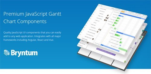 Bryntum v6.0.12 - Premium javascript Gantt Chart Components