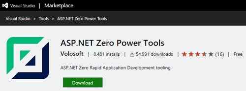 ASP.NET Zero Power Tools 2.0.4