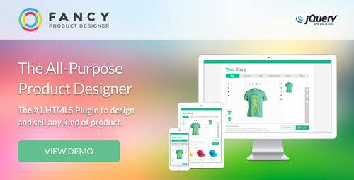 CodeCanyon - Fancy Product Designer | jQuery v4.9.6 - 3581183