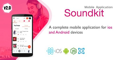 CodeCanyon - Soundkit v1.3.3 - Mobile Application for Ios and Android - 23049351